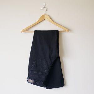 Levi's 505 Straight Leg Jeans Black